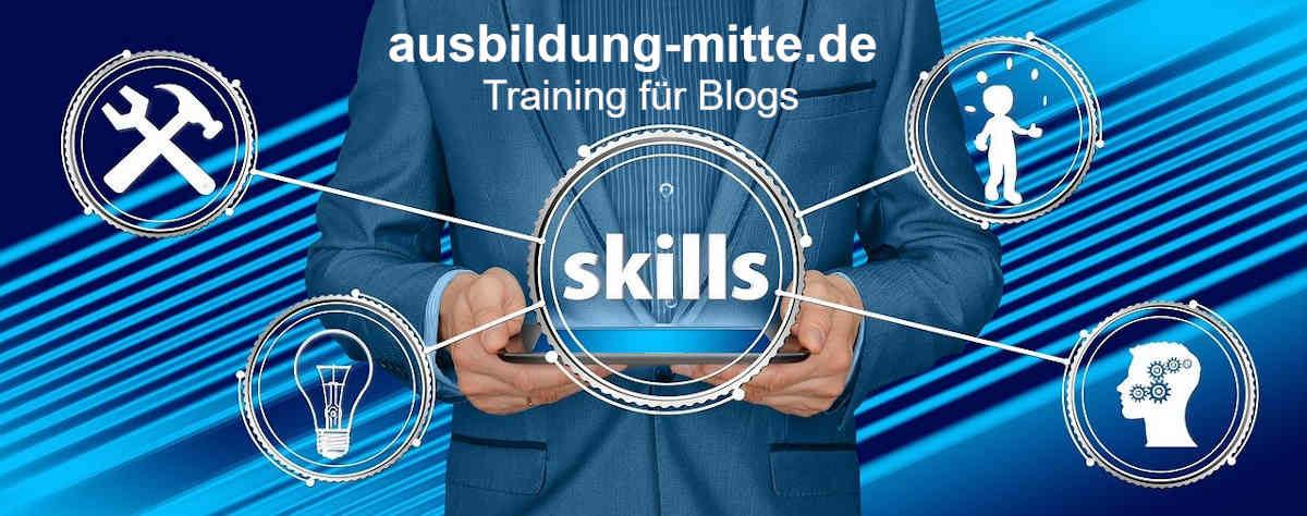 ausbildung-mitte.de - Training für Blogs